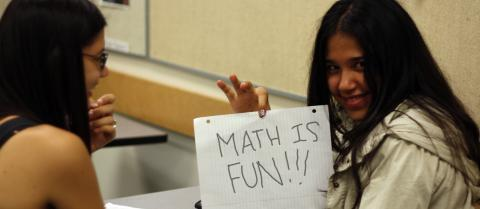 The Mathematics Outreach Endowment helps kids learn--and learn to love--mathematics.