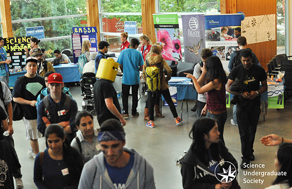 UBC Science Undergraduate Society Science Week